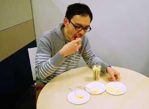 卵を味わうマヨネーズ