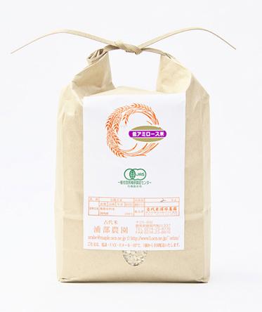 有機JAS認証 低アミロース米・玄米