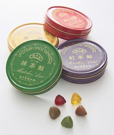 榮太樓飴4缶入