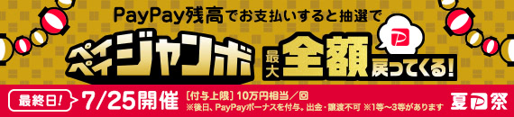 PayPay祭り25日