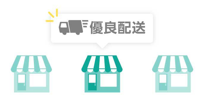 出店者様への配送サポート