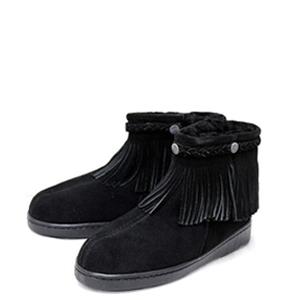 SHEEPSKIN  Side Zip Fringe Boot(サイドジップ フリンジ)