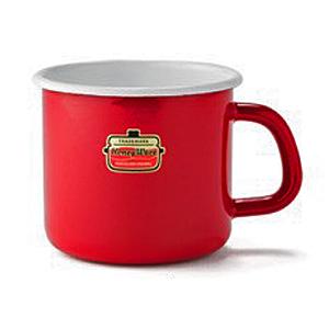 ホーロ-のコーヒーカップ