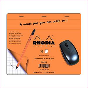 ロディアのクリックブロックマウスパッド