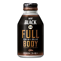 UCC BLACK無糖 FULL BODY リキャップ缶275g