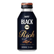 UCC BLACK無糖 RICH リキャップ缶375g