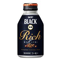 UCC BLACK無糖 RICH リキャップ缶275g