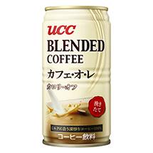 UCC ブレンドコーヒー カフェ・オ・レ 缶185g