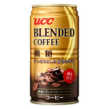 UCC ブレンドコーヒー 微糖 缶185g