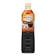 UCC おいしいカフェインレスコーヒー 無糖 PET930ml