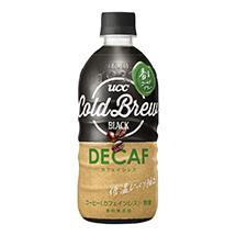 UCC COLD BREW DECAF デカフェ PET500ml