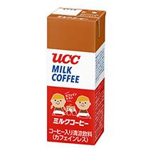 UCC ミルクコーヒー 紙パック200ml