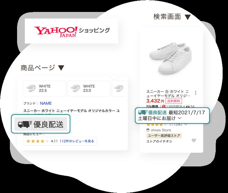 Yahoo!ショッピング 優良配送確認方法