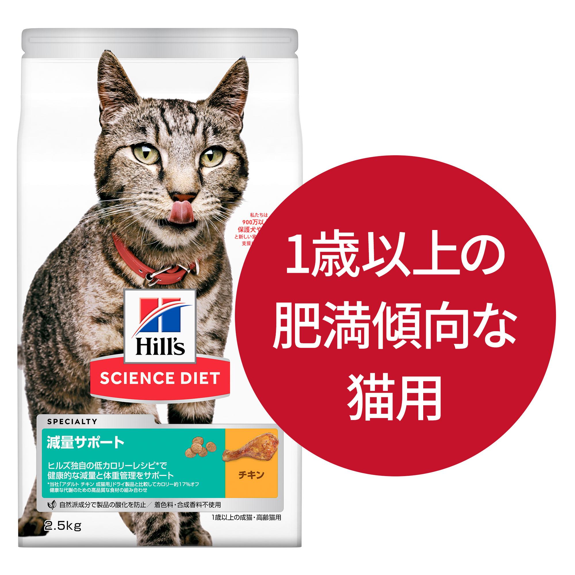 1歳以上の肥満傾向な猫用