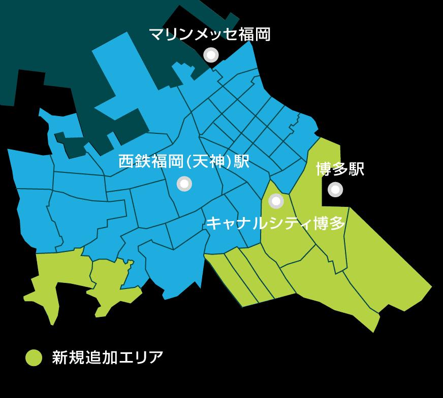 対象圏内地図画像