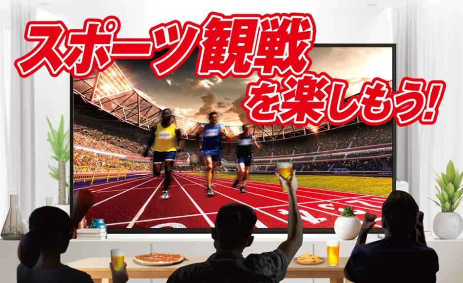 スポーツ観戦を楽しもう!