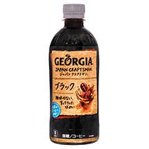 ジョージア ジャパン クラフトマン ブラック 500mlPET