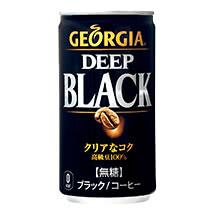 ジョージア ディープブラック 185g缶