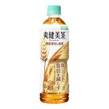 爽健美茶 健康素材の麦茶 600mlPET