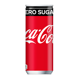 コカ・コーラ ゼロシュガー 缶