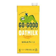 GO:GOOD おいしいオーツ麦ミルク なめらかプレーン 1.0L紙パック
