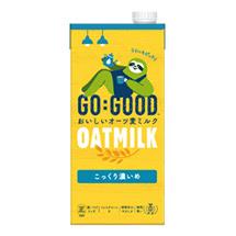 GO:GOOD おいしいオーツ麦ミルク こっくり濃いめ 1.0L紙パック