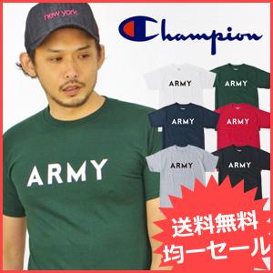 USAチャンピオンTシャツに定番ARMY