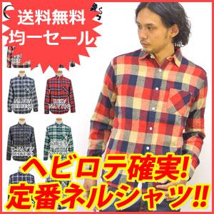 秋物新作 ネルシャツ