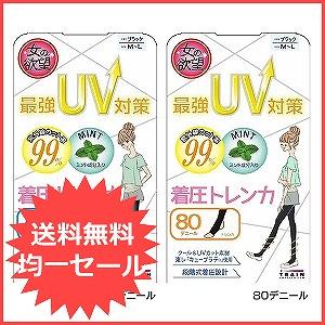最強UV対策ミント 着圧トレンカ