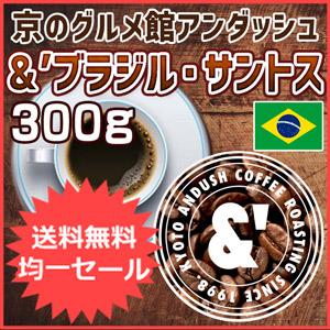 珈琲豆 ブラジル・サントス 300g