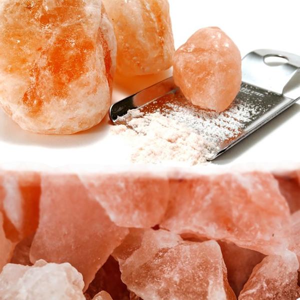 ▼岩塩などのこだわり調味料