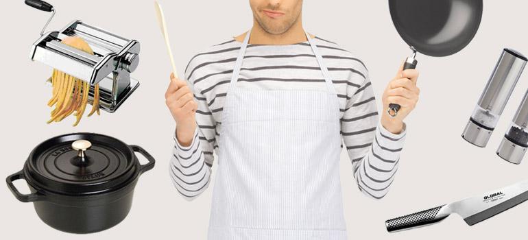 男の厳選調理器具