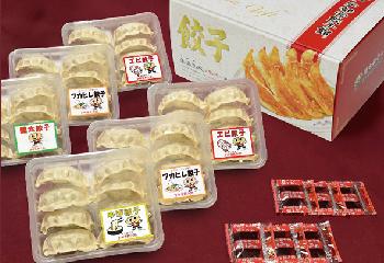 栃木宇都宮餃子館 ぜいたく4種セット48食