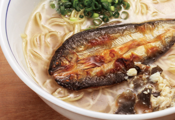 岐阜県 2度美味しい鮎らーめん 4食セット