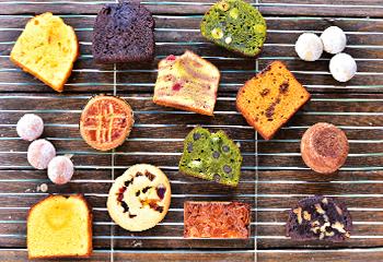 岐阜 フルーツパウンドケーキとティーセット