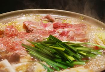 ご家庭で手軽に味わえる鴨鍋セット