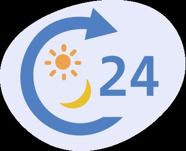 24時間365日体制のパトロール