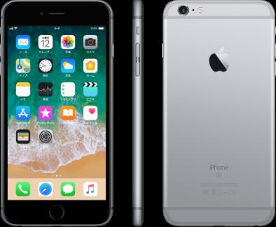 iPhone 6s Plus 128GBスペースグレイ 製品画像
