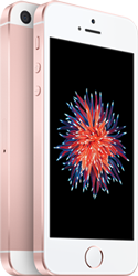 iPhone SE 32GBローズゴールド 製品画像