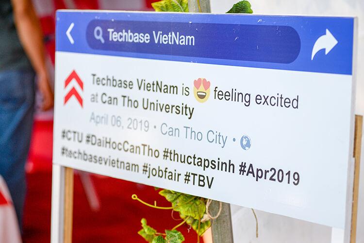 Techbase Vietnam CTU Job Fair 2019