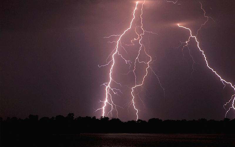 落雷のイメージ画像