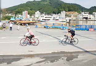 ツール・ド・東北2014:被災地の様子や東北の風景が見れるコースの写真