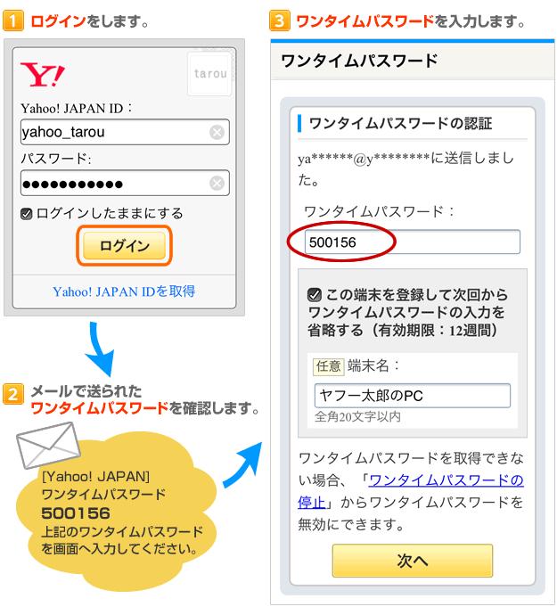 yahoo japan ログイン