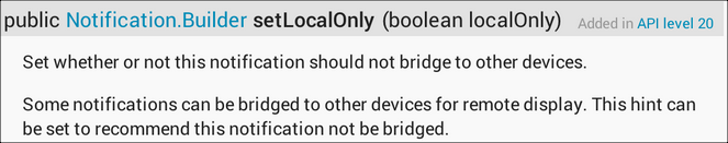 LNotification setLocal