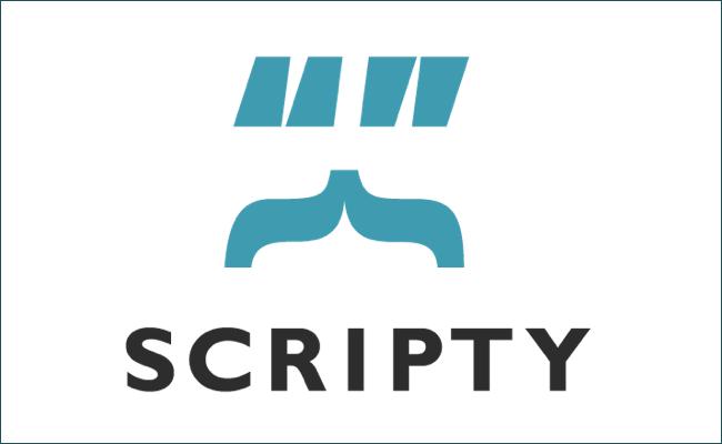 scriptyロゴ