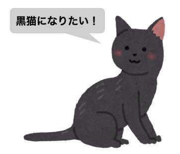 黒猫の意思