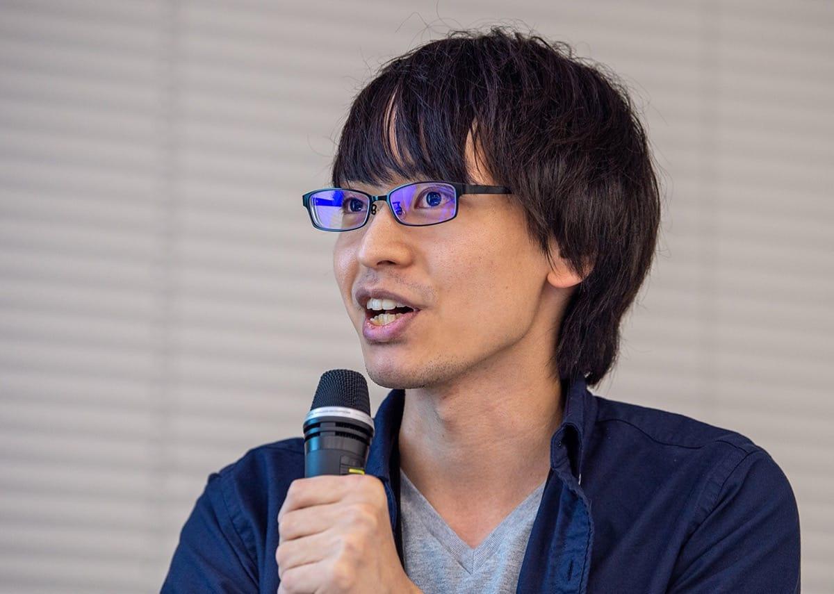 登壇者内藤の写真