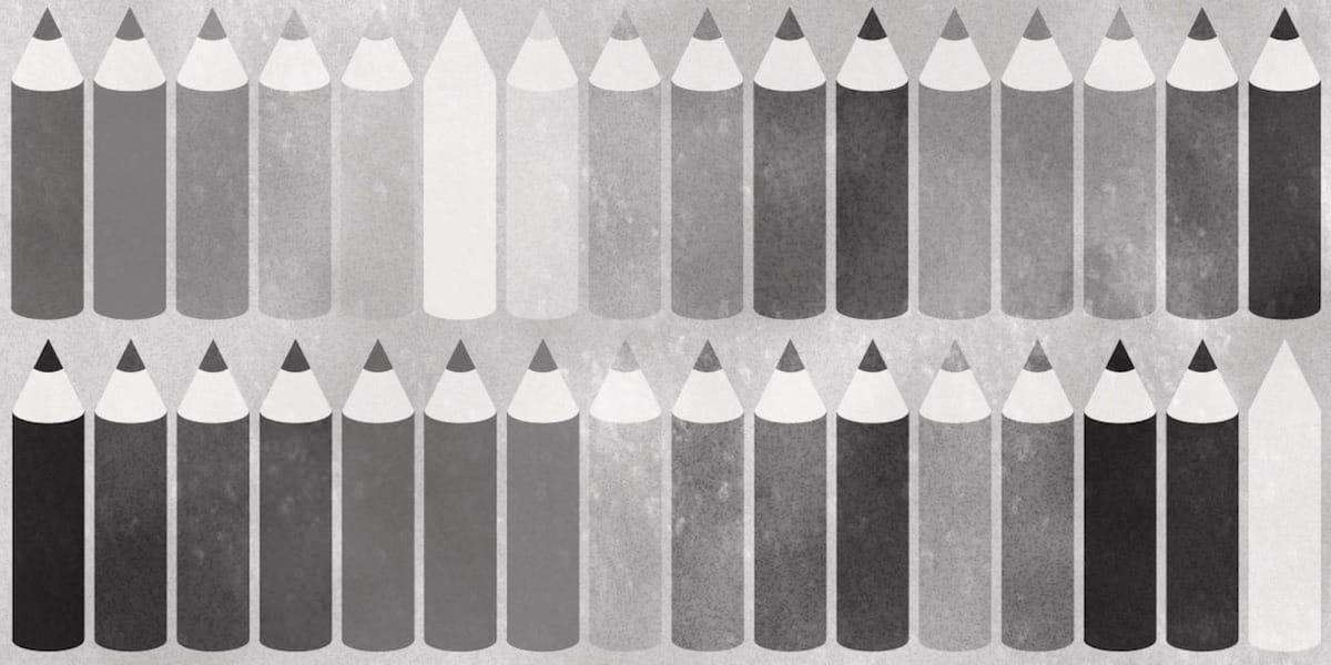 1色覚・全色覚異常の人の色の見え方