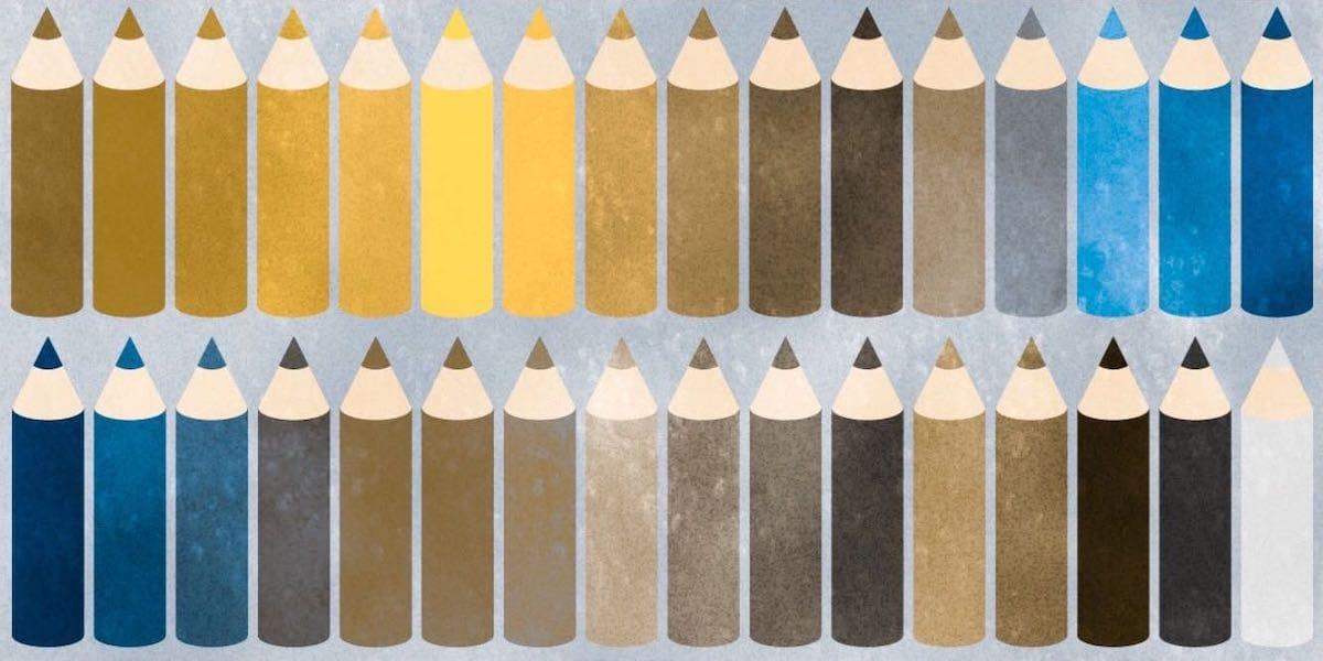 2型3色覚の人の色の見え方
