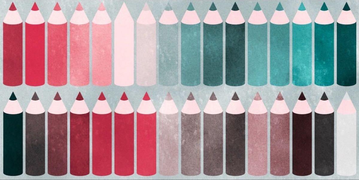 3型2色覚の人の色の見え方